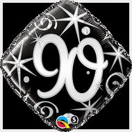 #90 Elegant - 45cm Inflated Foil