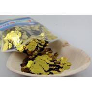 1cm Metallic Confetti - Gold