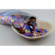 1cm Metallic Confetti - Bright Assorted