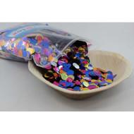 1cm Metallic Confetti - Bright Assorted