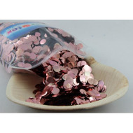 1cm Metallic Confetti - Rose Gold