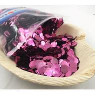 1cm Metallic Confetti - Light Pink