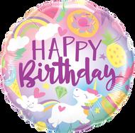 """Birthday """"Fantastical Fun"""" - 45cm Flat Foil"""