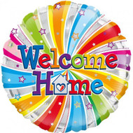 "Welcome Home ""Swirls"" - 45cm Flat Foil"