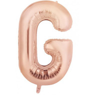 86cm Rose Gold G - Inflated