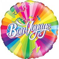 """Bon Voyage """"Swirls"""" - 45cm Flat Foil"""