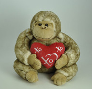 Bouquet Addition - 25cm Love Heart Gorilla