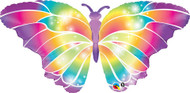 "Luminous Butterfly - 44"" Flat Shape"