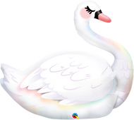 "35"" Graceful Swan - Inflated Shape"