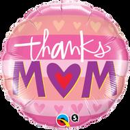 45cm Mum Foil - Thanks Mum