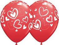 28cm Prints - Love Hearts