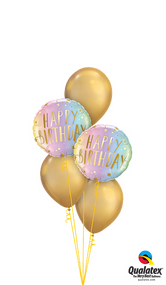"""MB2P Birthday """"Neon and Gold"""""""