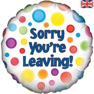 45cm Sorry You're Leaving Foil