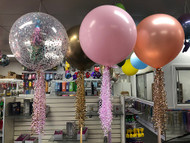 60cm Helium Filled & Dressed Latex