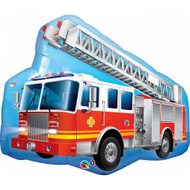 "Fire Truck - 35"" Flat Shape"