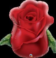 82cm Shape - Red Rose Bud