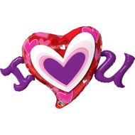 115cm Shape - Radiant Hearts