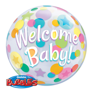 55cm Welcome Baby Bubble