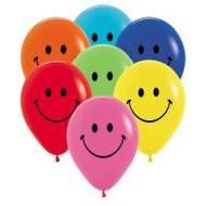 30cm Prints - Smiley Face Assorted