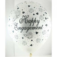 """30cm """"Happy Engagement"""" - Inflated"""