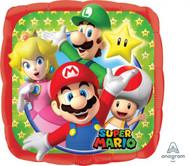 Super Mario - 45cm Flat Foil