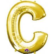 86cm Flat Alphaloon - Gold C