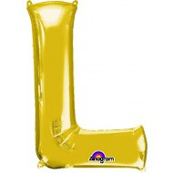 86cm Flat Alphaloon - Gold L