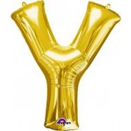 86cm Flat Alphaloon - Gold Y