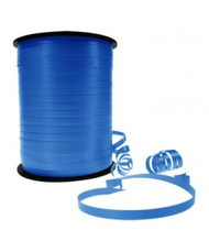 5mm x 460mtr Roll Blue Curl Ribbon