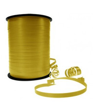5mm x 460mtr Roll Gold Curl Ribbon