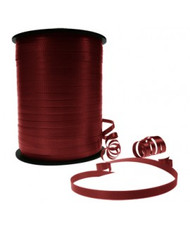 5mm x 460mtr Roll Burgundy Curl Ribbon
