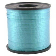 5mm x 460mtr Roll Teal Curl Ribbon