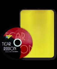 32mm x 91mtr Yellow Tear Ribbon