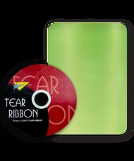 32mm x 91mtr Lime Green Tear Ribbon