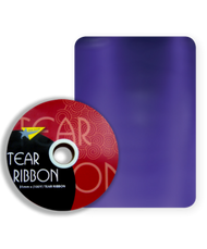 32mm x 91mtr Purple Tear Ribbon