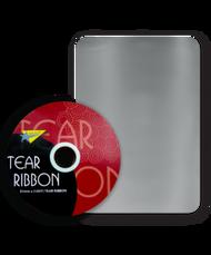 32mm x 91mtr Silver Tear Ribbon