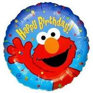 Elmo Birthday - 45cm Flat Foil