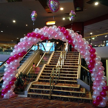 A7C Spiral Arch with Foil additions.