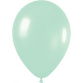30cm Pearl Light Green Latex - Pkt 100