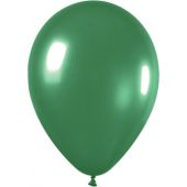 30cm Metallic Emerald Green Latex - Pkt 100