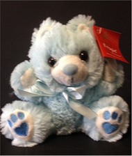 Bouquet addition -Small Blue Teddy