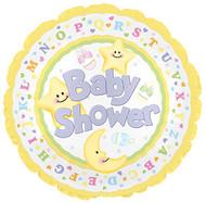 Baby Shower - 43cm Flat Foil