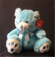 Bouquet Addition - 34cm Blue Bear