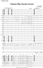 Gloria (My Savior Lives) - Full Orchestral Score and Parts