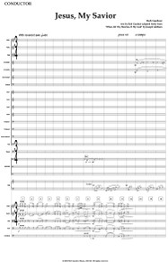 Jesus, My Savior - Full Orchestral Score and Parts