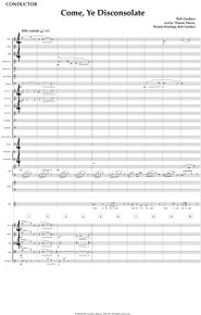 Come, Ye Disconsolate - Full Orchestral Score and Parts