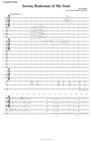 Savior, Redeemer of My Soul - CHOIR VERSION - Full Orchestral Score and Parts