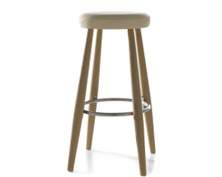 Carl Hansen - CH56 barstool (loke leather)