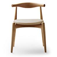 Carl Hansen - CH20 Elbow chair (loke leather)