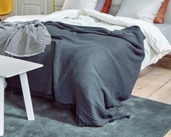 Hay - Crinkle bedspead (New) Anthracite